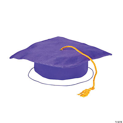 Child's Purple Graduation Cap