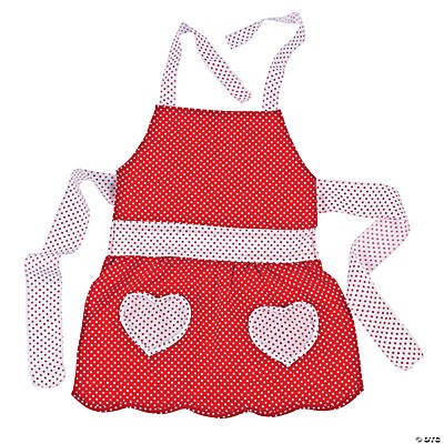 Child's Valentine Apron