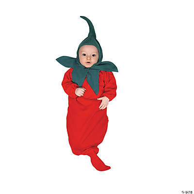 Chili Pepper Bunting Infant Kid's Costume
