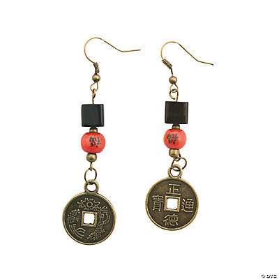Chinese Coin Earring Kit