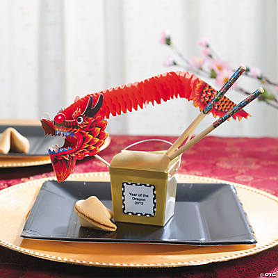 Chinese New Year Take Out Boxes Idea