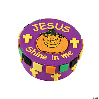 Christian Pumpkin Prayer Box Craft Kit