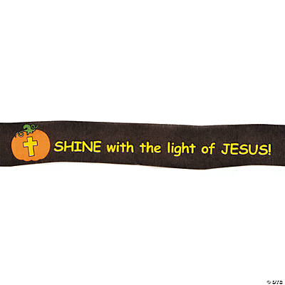 Christian Pumpkin Streamers