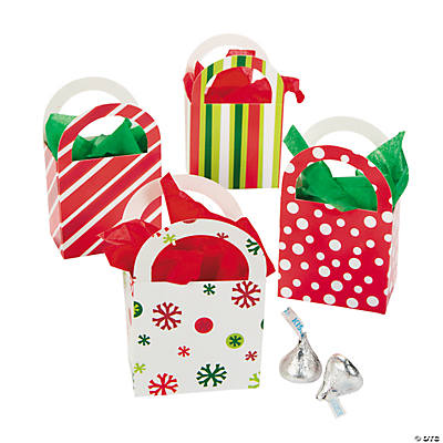 Christmas Baskets with Handles