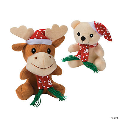 Christmas Bears & Reindeer Stuffed Animals