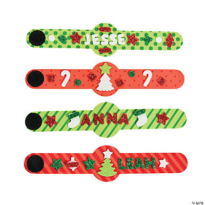 Christmas Bracelet Craft Kit