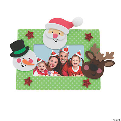 Christmas Character Picture Frame Magnet Craft Kit