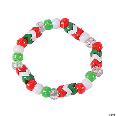 Christmas Chevron Bracelet Craft Kit