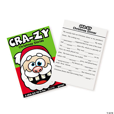 Christmas Crazy Story Activity Books