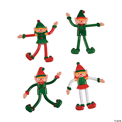Christmas Elf Bendables