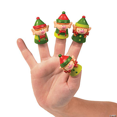Christmas Elf Finger Puppets