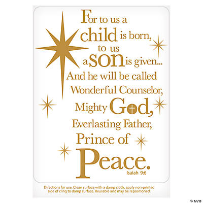 Christmas Faith Wall Decal