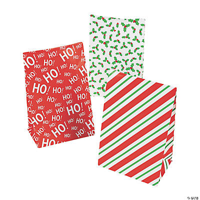 Christmas Mini Treat Bags with Tape