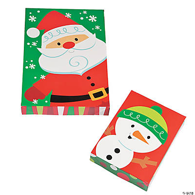 Christmas Shirt Boxes  Oriental Trading  Discontinued