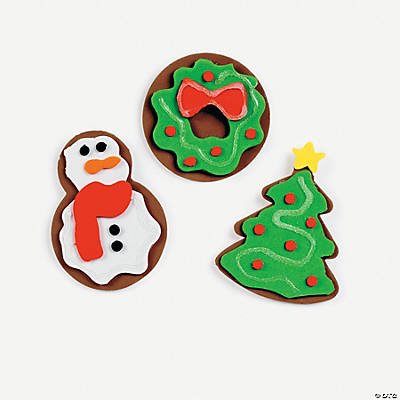 Christmas Sugar Cookie Magnet Craft Kit