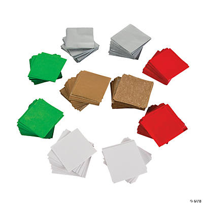 Christmas Tissue Paper Squares
