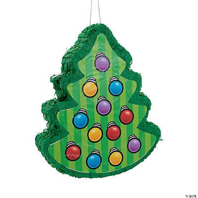 Tree 2D Piñata - Christmas Tree Pinata