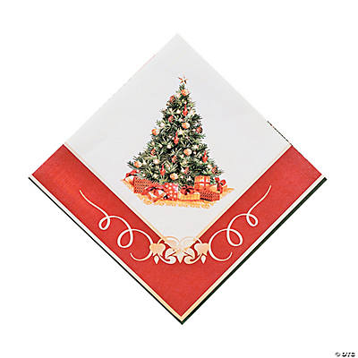 Christmas Tree Luncheon Napkins