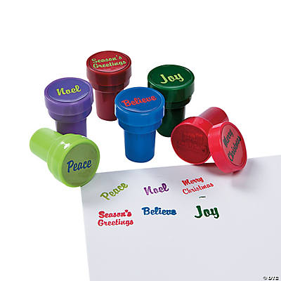 Christmas Word Stampers