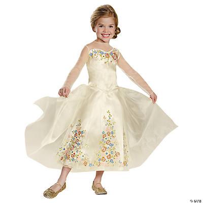 cinderella wedding dress costume for girls