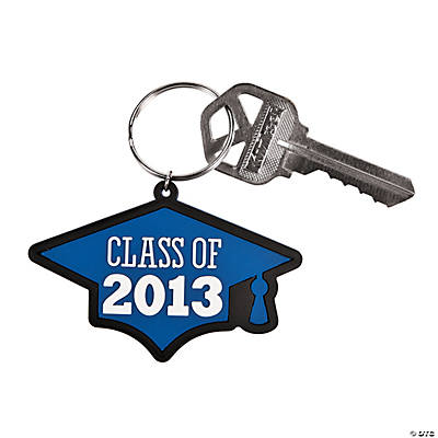 """Class of 2013"" Blue Key Chains"