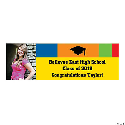 Class Of Custom Photo Banner