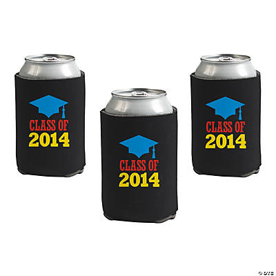 """Class of 2014"" Graduation Can Covers"