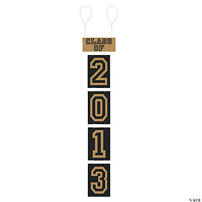 """Class of 2013"" Hanging Numbers"
