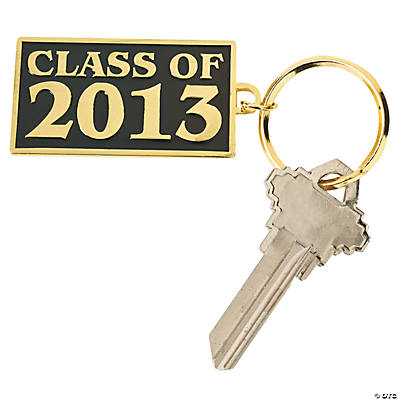 """Class of 2013"" Key Chains"
