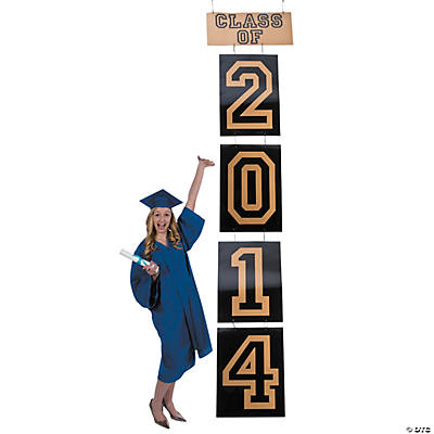 Class of 2014 Large Hanging Graduation Decoration