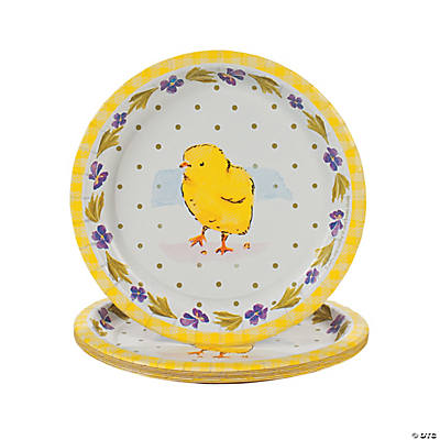 Classic Easter Dessert Plates