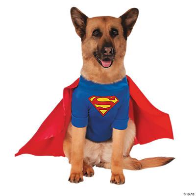 Small Dog Superman Cape
