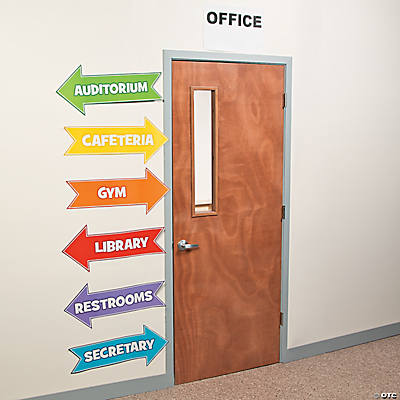 Classroom Directional Signs