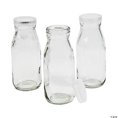 clear glass milk bottles with lid. Black Bedroom Furniture Sets. Home Design Ideas