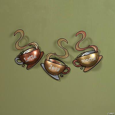 Coffee Mug Wall Décor - Oriental Trading - Discontinued