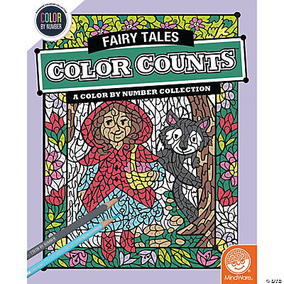 Color Counts Coloring Books for Kids