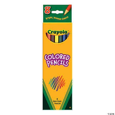 8-Color Crayola® Color Pencils - 8 pcs.