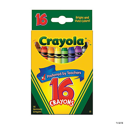16-Color Crayola® Crayons