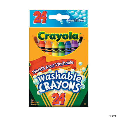 24-Color Crayola® 24 Pc. Washable Crayons