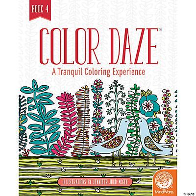 Coloring Book 4 : Daze book 4