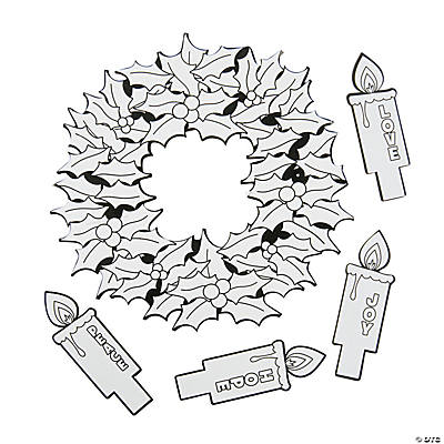 advent coloring pages crafts - photo#19