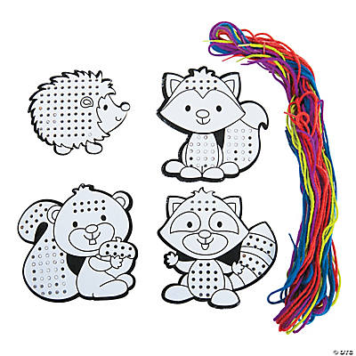 Color Your Own Cross Stitch Characters