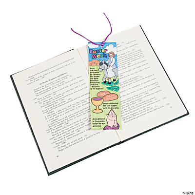 Color Your Own Easter Story Bookmarks
