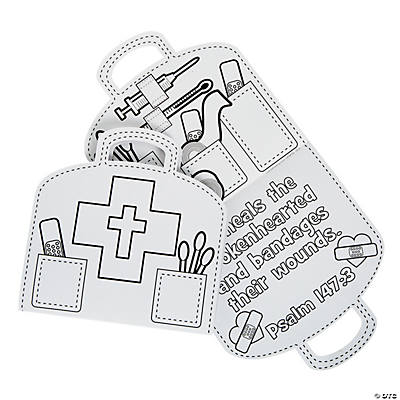 Color Your Own God Heals Kit