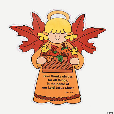 Color Your Own Harvest Angels