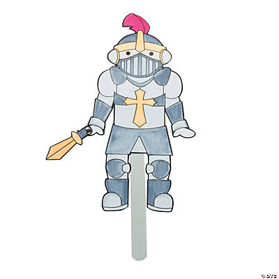 "Color Your Own ""Mighty Kingdom"" Puppet Craft Kit"