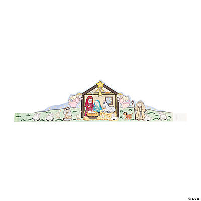 Color Your Own Nativity Crowns