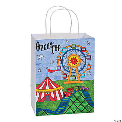 "Color Your Own ""Over the Top"" Take Home Bags"