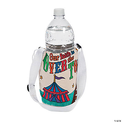 "Color Your Own ""Over the Top"" Water Bottle Holders"