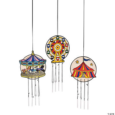 "Color Your Own ""Over the Top"" Wind Chimes"